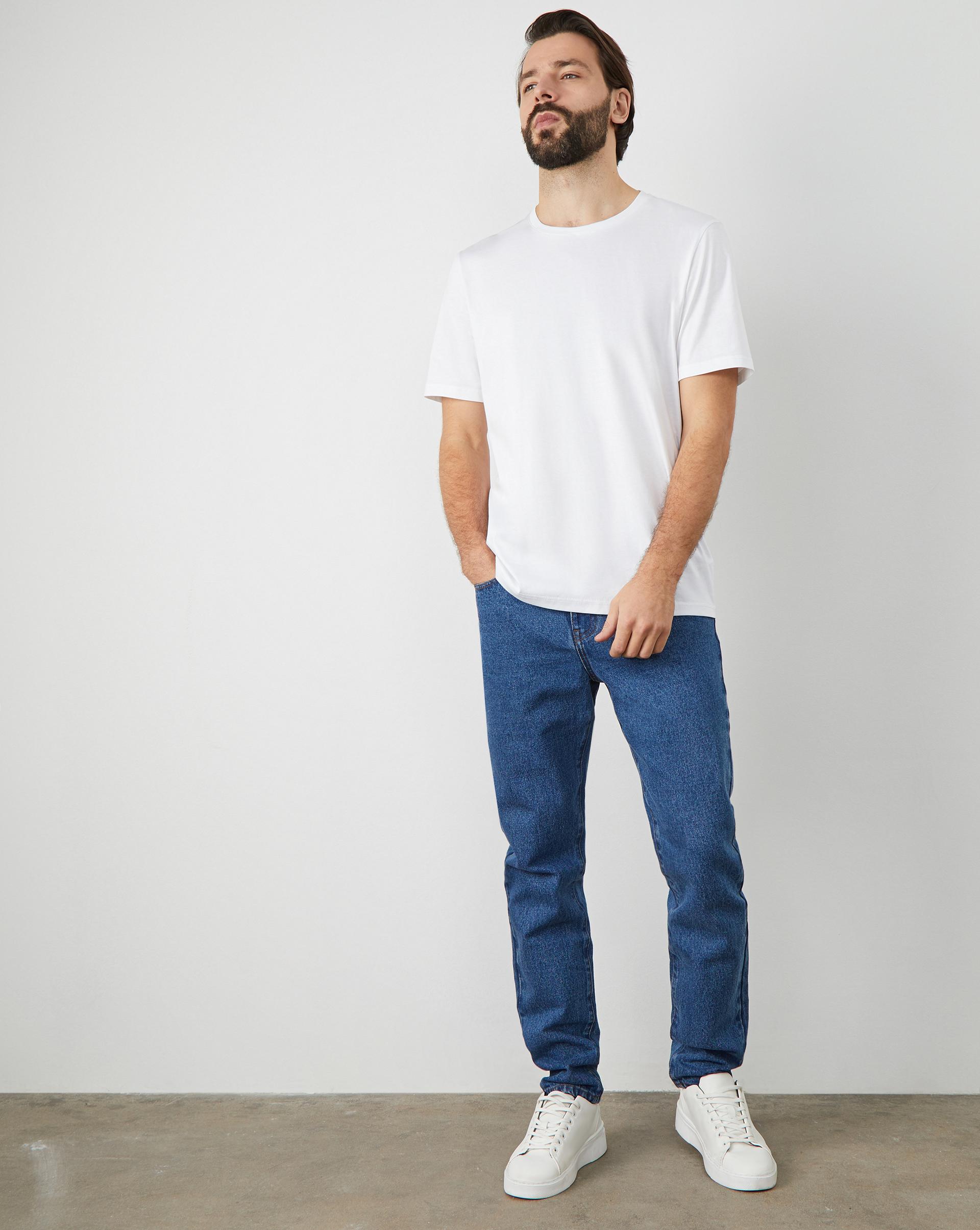 12⠀STOREEZ Джинсы прямые классические джинсы blugirl джинсы в стиле брюк