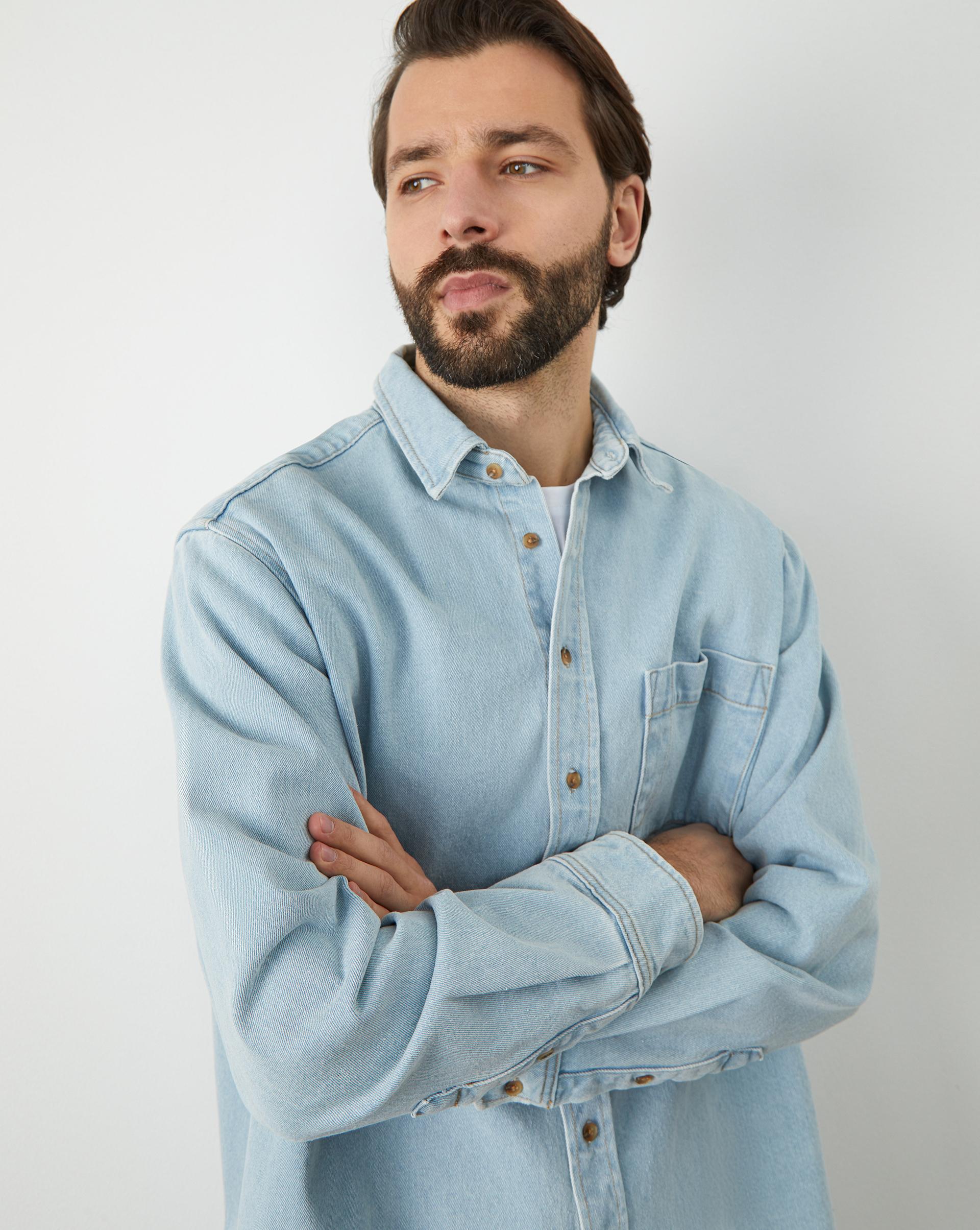 12STOREEZ Рубашка свободного кроя