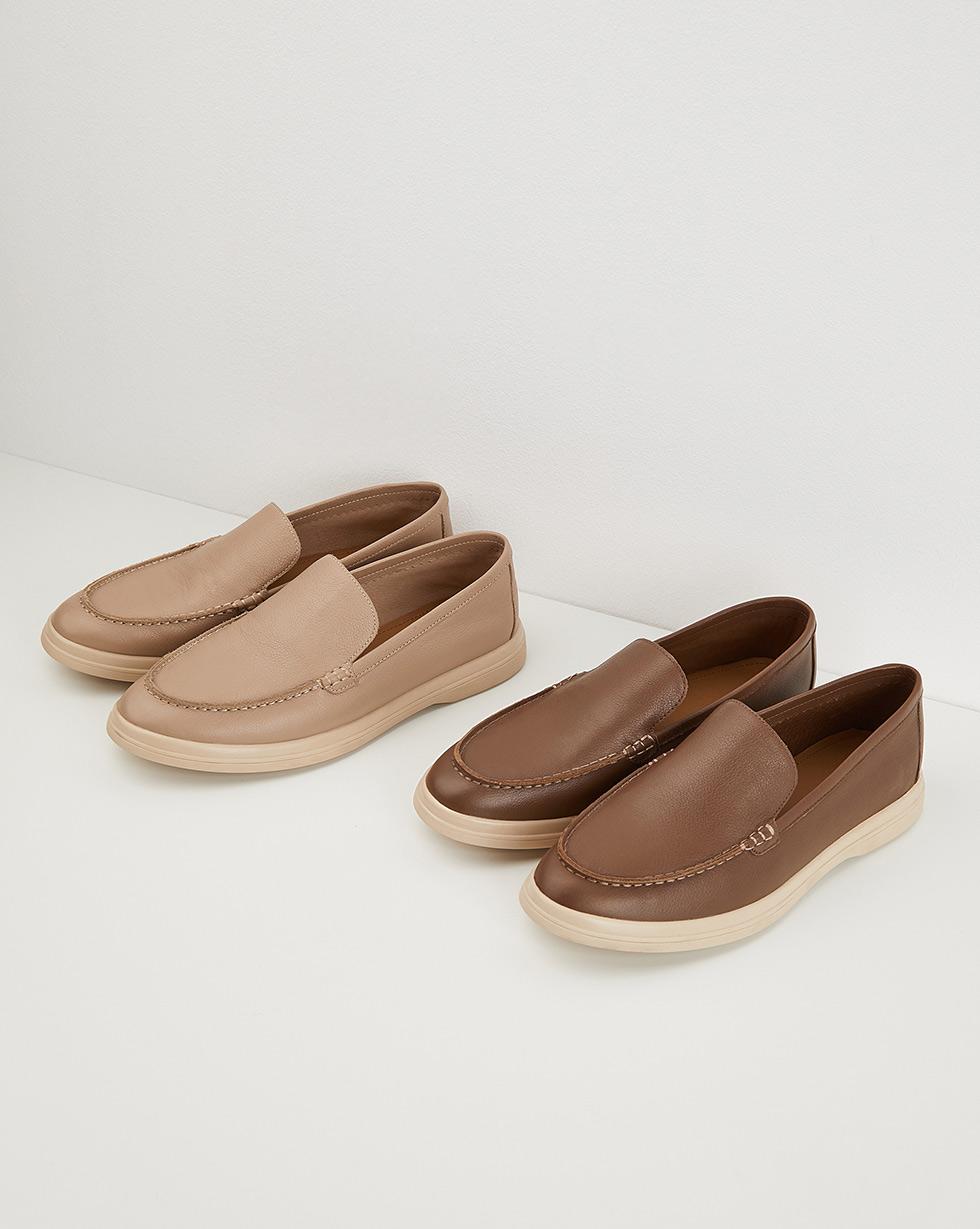 12STOREEZ Туфли-лоферы (Коричневый) 12storeez туфли лоферы из меха