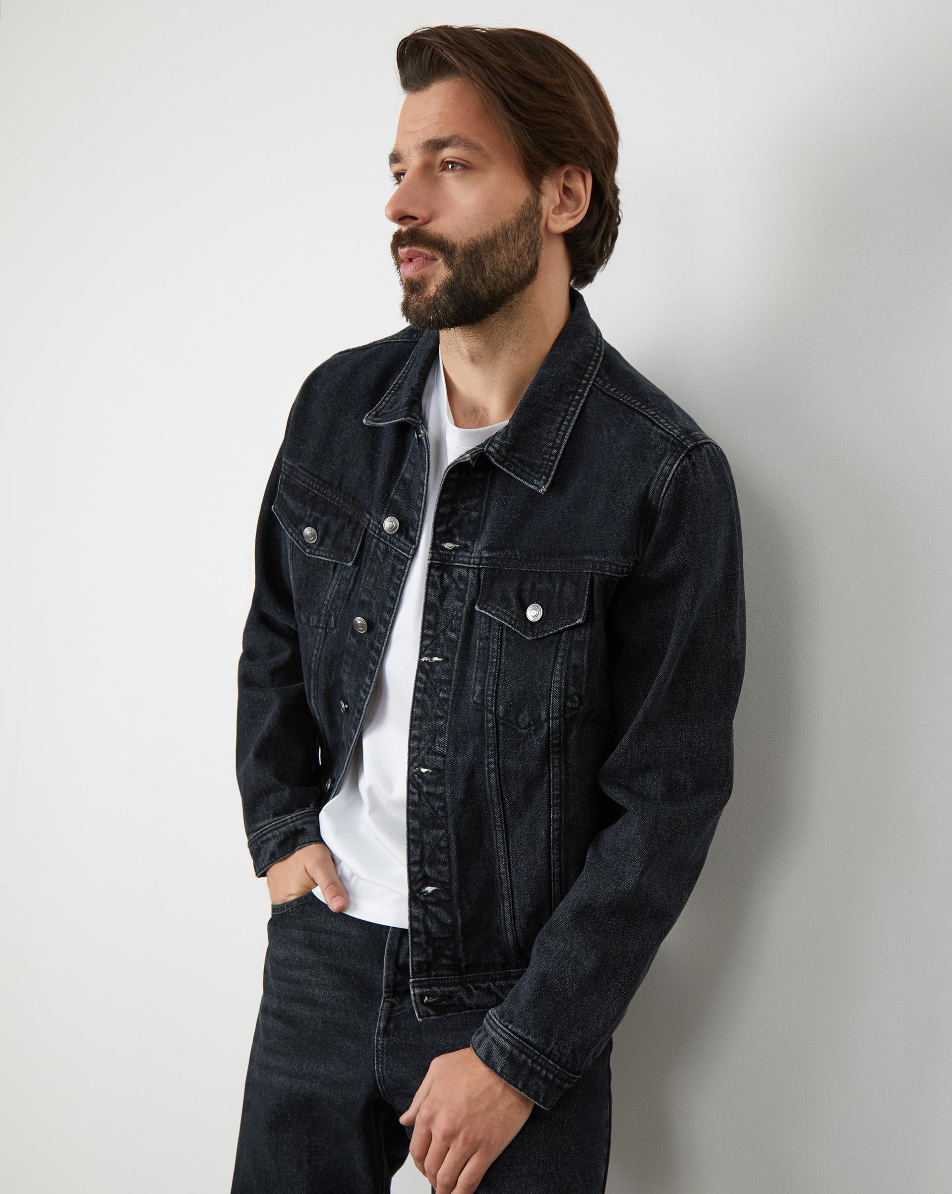 12STOREEZ Джинсовая куртка куртка bogner куртка