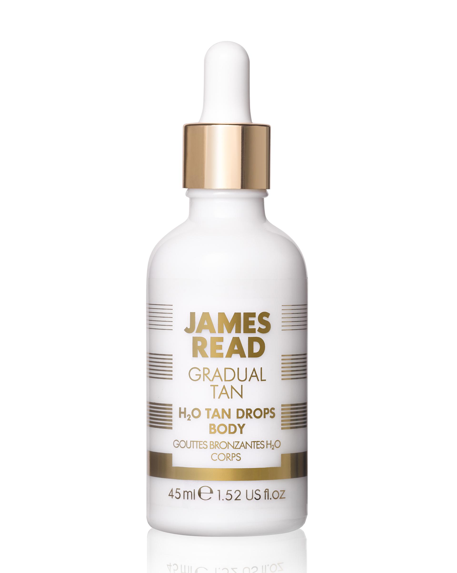 12⠀STOREEZ JAMES READ Капли-концентрат для тела H2O TAN DROPS BODY, 45мл