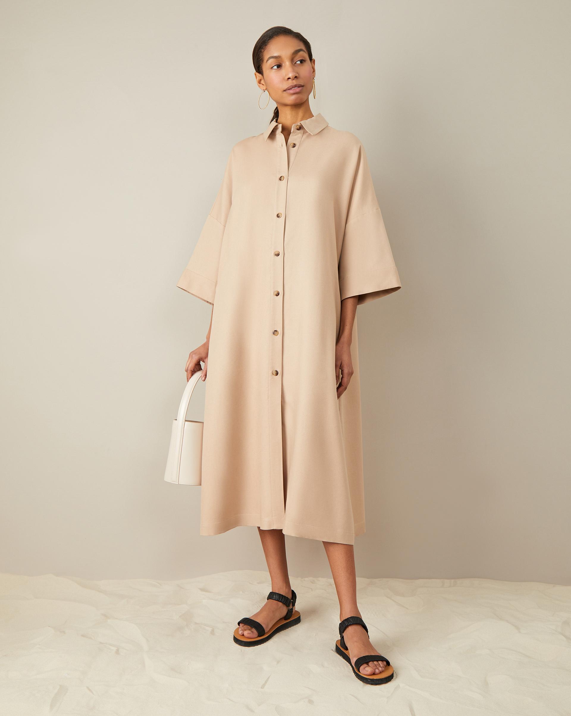 12⠀STOREEZ Платье-рубашка
