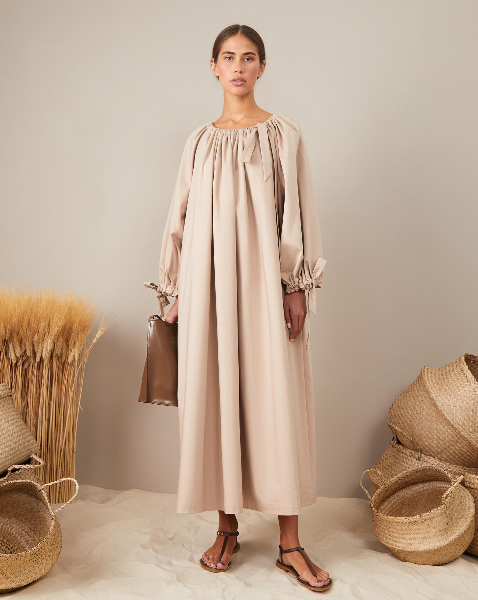12STOREEZ Платье со сборкой