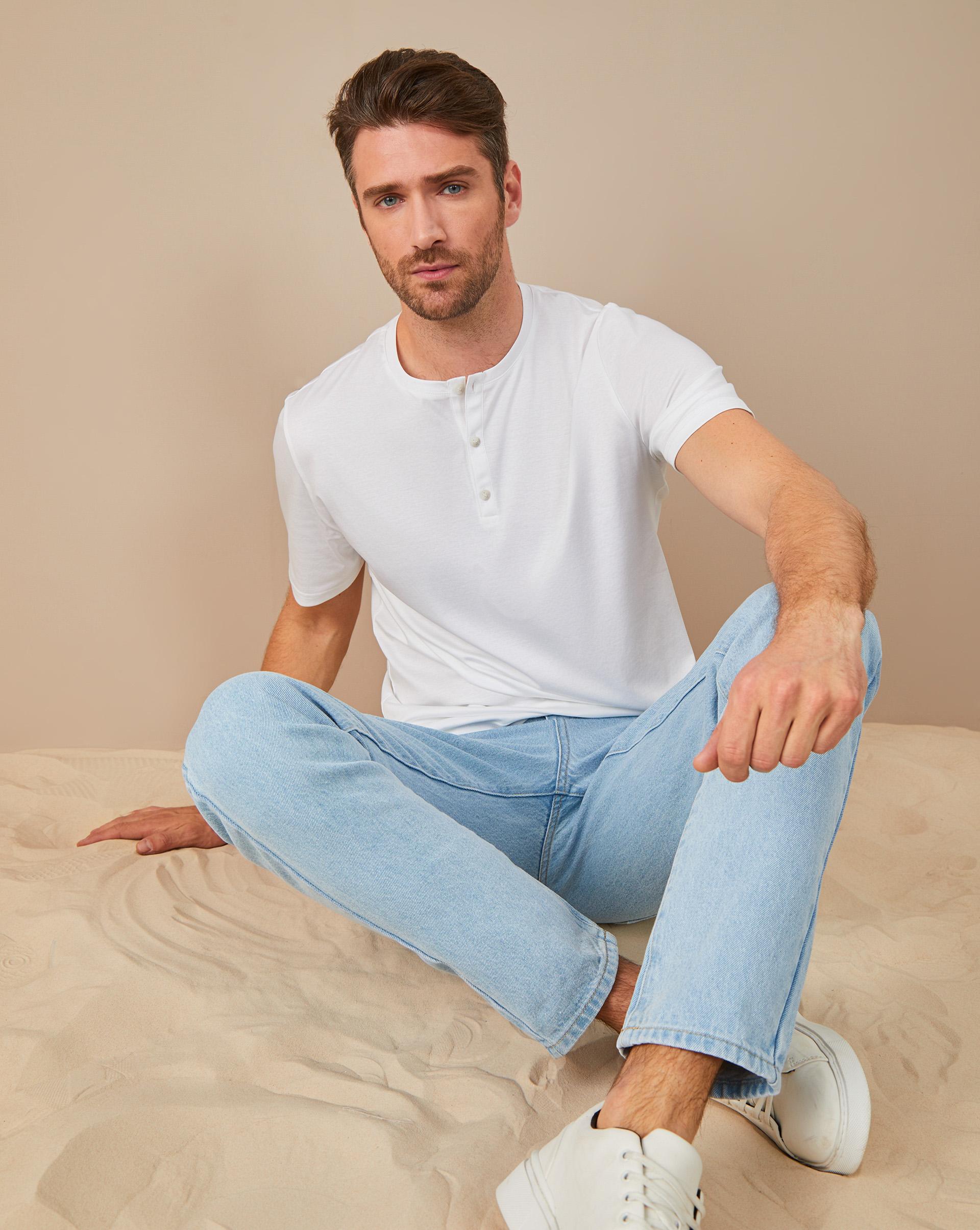 12STOREEZ Джинсы прямые классические джинсы sela sela se001emdqge1