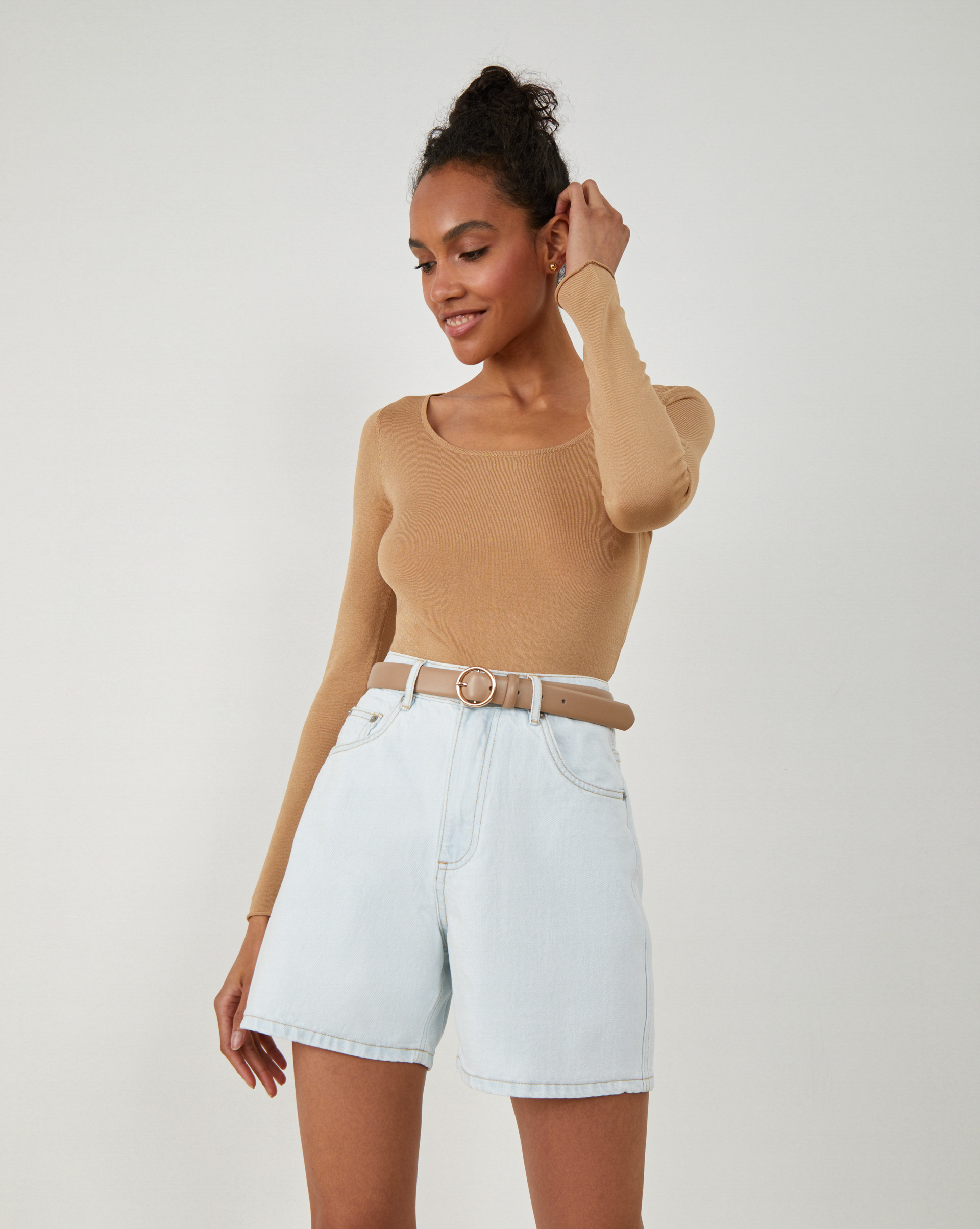 Фото - 12⠀STOREEZ Джинсовые шорты please джинсовые шорты
